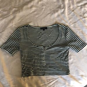 NWT Topshop Crop Top